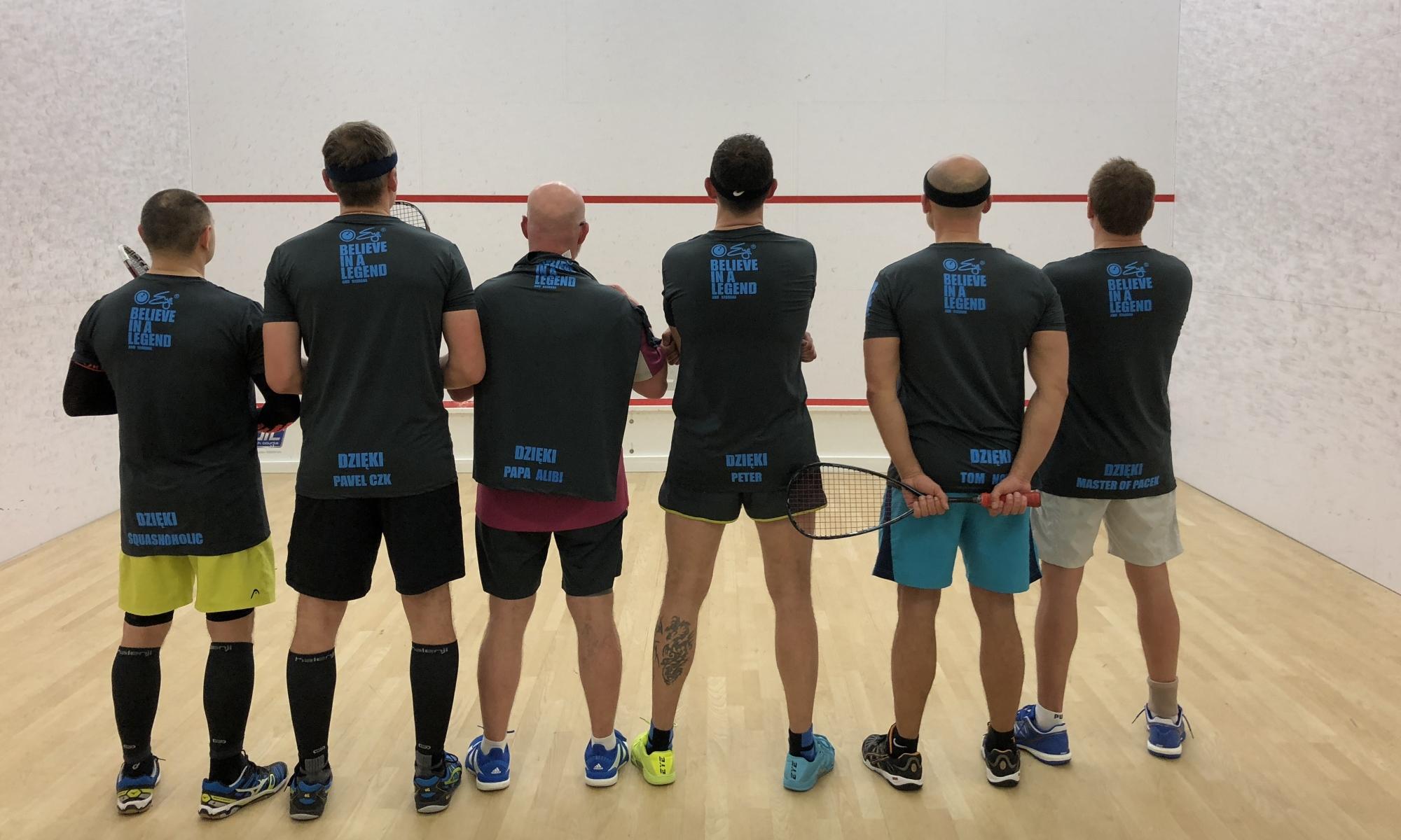 Gramy w squasha